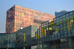 CBD-Beijing city Economic centers Royalty Free Stock Photo