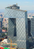 CBD-Beijing city Economic centers-CCTV Tower Royalty Free Stock Images