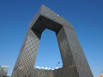 CBD-Beijing city Economic centers-CCTV Tower Stock Images