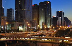 CBD-Beijing city Skyline,Building Royalty Free Stock Photography