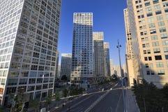 CBD-Beijing city Skyline,Building Royalty Free Stock Images
