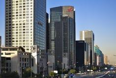 CBD-Beijing city Skyline,Building Royalty Free Stock Photo