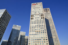 CBD-Beijing city Skyline,Building Royalty Free Stock Photos