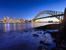 CBD Bridge Low Tide Stock Images