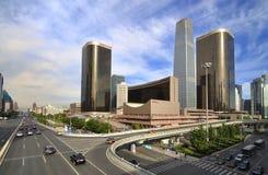 The CBD Building , Beijing Skyline Stock Photography