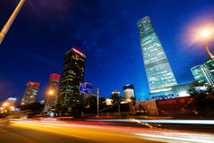 CBD buildings in Guomao,Beijing Royalty Free Stock Images