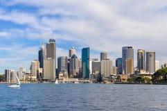 CBD da Kirribilli a Sydney, Australia Fotografie Stock