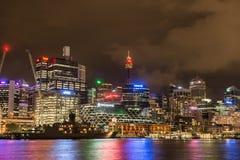 Cbd della città di Sydney Fotografie Stock Libere da Diritti