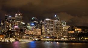 Cbd della città di Sydney Fotografia Stock