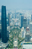 CBD di Canton Cina Immagini Stock