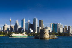 CBD fort ferry Royalty Free Stock Photography