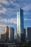 CBD Guangzhou miasto obraz stock