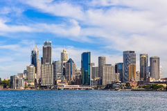 CBD from Kirribilli in Sydney, Australia Royalty Free Stock Images