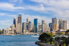 CBD from Kirribilli in Sydney, Australia Stock Images