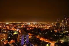 CBD linia horyzontu w Melbourne Fotografia Royalty Free