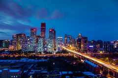CBD Pekin obraz stock