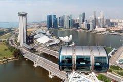 cbd singapore Royaltyfri Foto