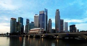 CBD Singapur Fotos de archivo