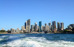 CBD-Skyline in Sydney lizenzfreies stockfoto