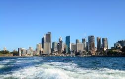 CBD Skyline in Sydney Royalty Free Stock Photo