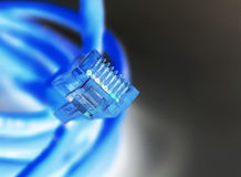 Câble d'Internet Image libre de droits