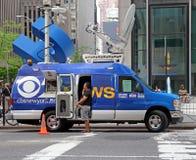 CBS News Van stock photos