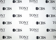 CBS Tony Awards Logo Stock Images