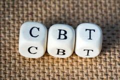 CBT lizenzfreie stockbilder