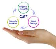 CBT-Diagram Royalty-vrije Stock Foto