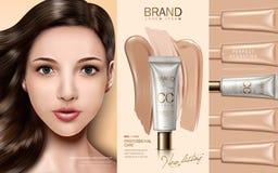 Cc cream ad Stock Photo