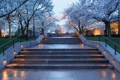 CC di Franklin Roosevelt Park Washington dell'entrata Fotografia Stock