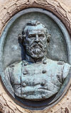 CC di GAR Civil War Memorial Washington immagini stock libere da diritti