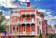 CC di generale John Logan House Civil War Hero Logan Circle Washington Fotografia Stock