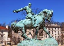 CC di generale Phil Sheridan Statue Sheridan Circle Washington Fotografie Stock