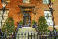 CC di Montgomery Blair Lee House Night Washington Fotografie Stock