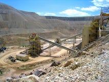 CC i V kopalnia złota zdjęcie stock