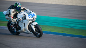 1000cc que compete em TT Assen Circuit Fotografia de Stock