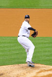 CC Sabathia Yankees Pitcher Stock Image