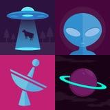 CC$UFO ilustracja wektor