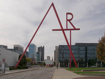 CCAD Art Sign Arkivbilder