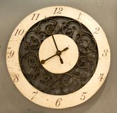 CCassic clock with moving pointer Royalty Free Stock Photos