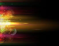 CCB do negócio do conceito da informática do equalizador do volume da música ilustração do vetor
