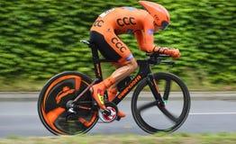 CCC POLKOWICE Professioneel Continentaal Team in Tour DE Suisse 2015 Stock Fotografie