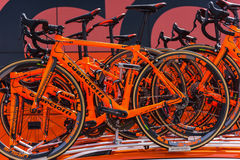CCC Sprandi Polkowice rowery Obrazy Royalty Free