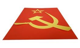 флаг cccp Стоковые Фотографии RF