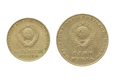 CCCP coin Royalty Free Stock Photo