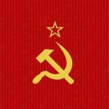 CCCP Flag Symbol Royalty Free Stock Photos