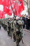Ccelebration av självständigheten av Litauen Arkivfoton