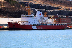 CCGS Henry Larsen ready for rescue operations Royalty Free Stock Photos