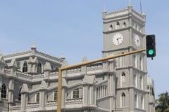 Cchrist der Königkirche CMS, Jachthafen, zentrales Geschäftsgebiet Lagos, Lagos, Nigeria stockfotografie
